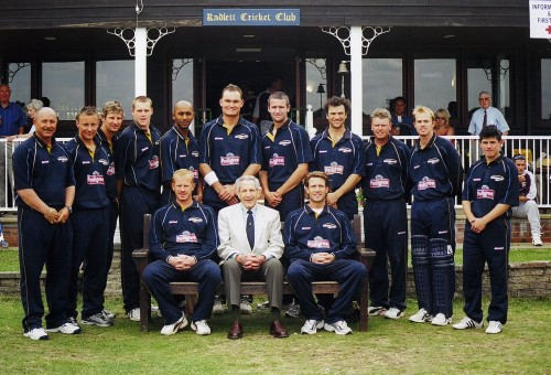 Donald Carr and DerbyCCC at Radlett in 2004